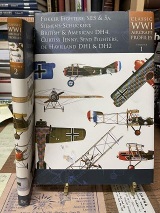 Classic WWI Aircraft Profiles (Two Volume Set