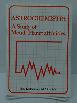 Astrochemistry: A Study of Metal-Planet Affinities. Nick Killerstrom