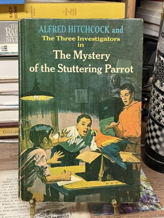 The Mystery of the Stuttering Parrot (The Three Investigators No.2