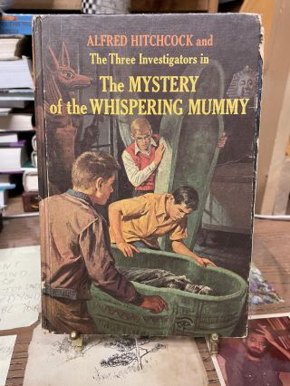 The Mystery of the Whispering Mummy (The Three Investigators No.3). Robert Arthur