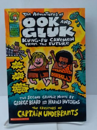 The Adventures of Ook and Gluk, Kung-Fu Cavemen From the Future. George Beard