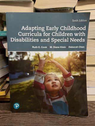 Adapting Early Childhood Curricula for Children with Disabilities and Special Needs (Tenth...