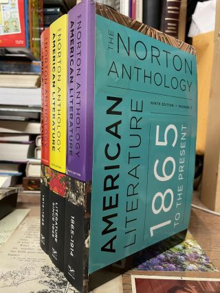 The Norton Anthology of American Literature (Ninth Edition, Package 2