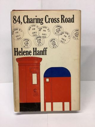 84, Charing Cross Road. Helene Hanff