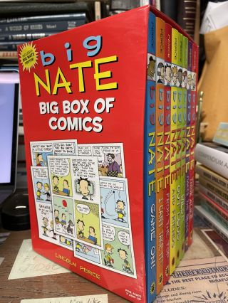 Big Nate Big Box of Comics: 8 Book Box Set. Lincoln Peirce
