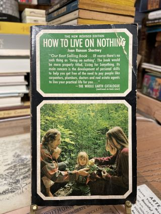How to Live on Nothing. Joan Ranson Shortney
