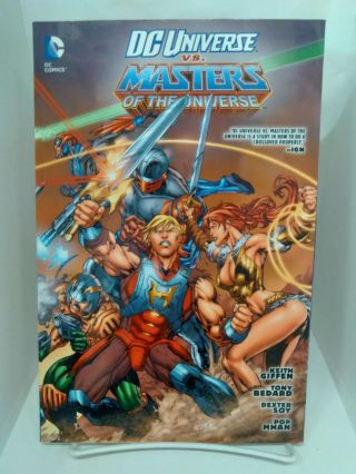 DC Universe Vs. Masters of the Universe. Keith Giffen