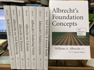 The Albrecht Papers (8 Volume Set). William A. Albrecht