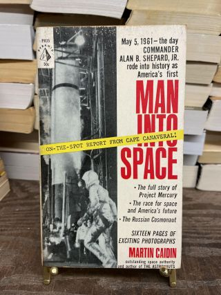 Man Into Space. Martin Cadin