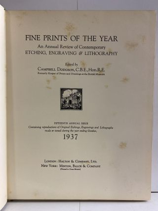 Fine Prints of the Year